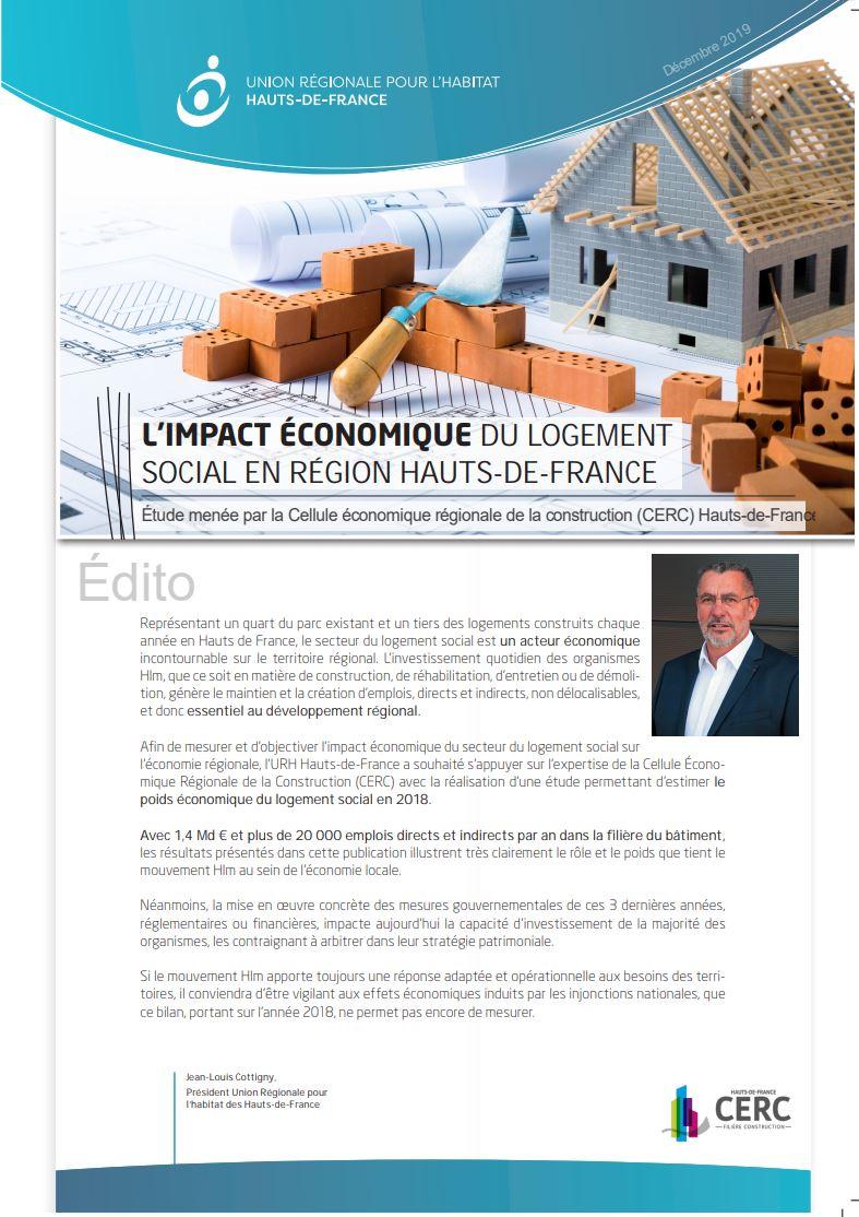 L'impact économique du logement social en Région Hauts-de-France