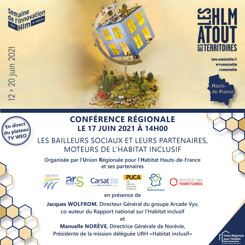 [Habitat inclusif ] Une Webconférence régionale le 17 juin pour officialiser la dynamique en Hauts-de-France