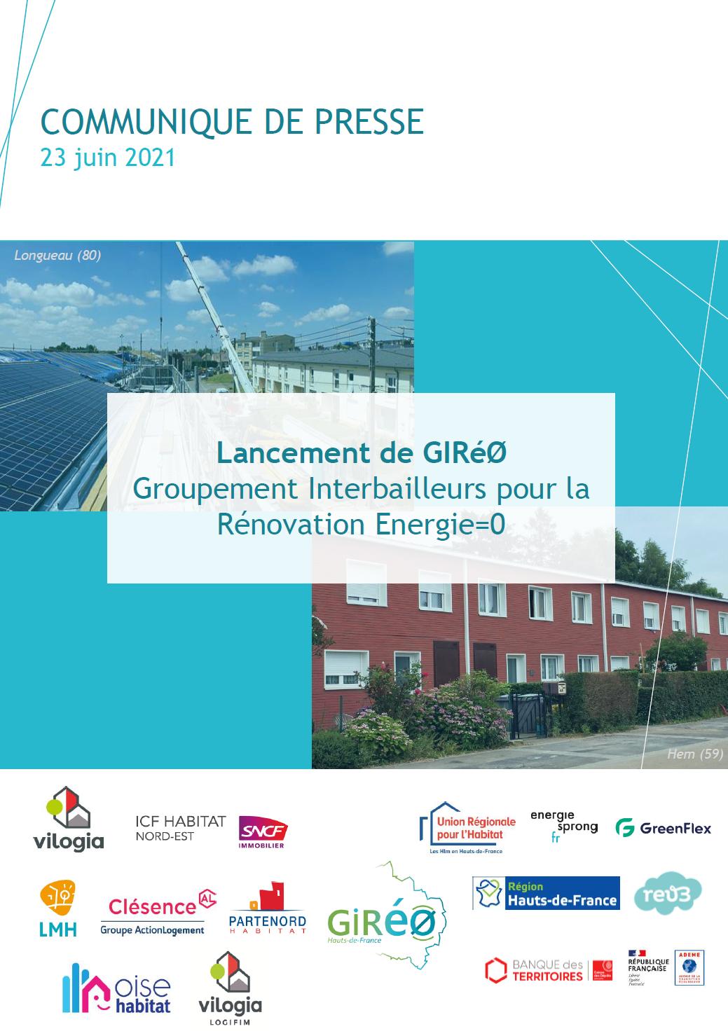[EnergieSprong] 7 bailleurs jouent le collectif pour structurer la filière en Hauts-de-France